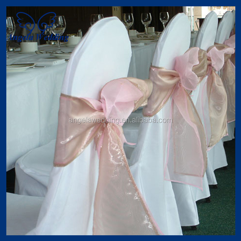chair cover decorations for wedding beach chairs on sale at walmart sh019a elegant wholesale fancy cheap organza tie red brooch sash ...