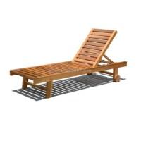 Marine Teak Wood Folding Deck Chair