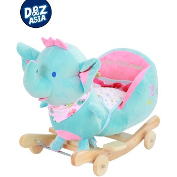 animal rocking chair bedroom with table plush elephant toy sheep animals