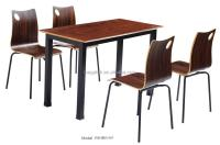 Nigerian Style Canteen Table/chairs Set Restaurant ...