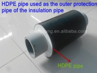 High Pressure Black Plastic Water Pipe With Hdpe Material ...