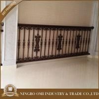 2016 New Latest Cheap Wrought Iron Balcony Railing Parts ...