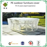 Clear Plastic Pe Outdoor Furniture Covers(reach Standard ...