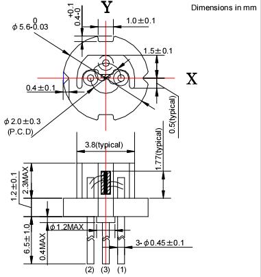 For Laser Pointer Orange Color 635nm 500mw To18 5.6mm