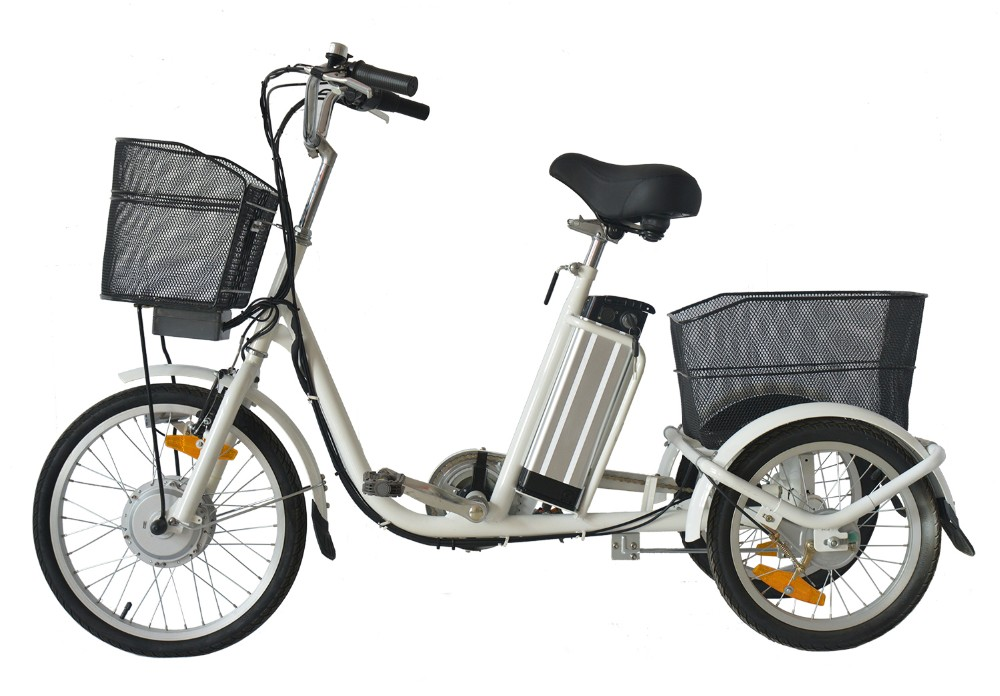 20'' China Steel Frame Electric Tricycles/three Wheel