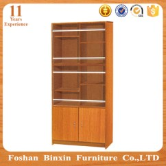 Bookcase Cabinets Living Room Pendant Light Furniture Rb713 Two Door Mdf Particle Board Pvc Bookshelf Cabnit