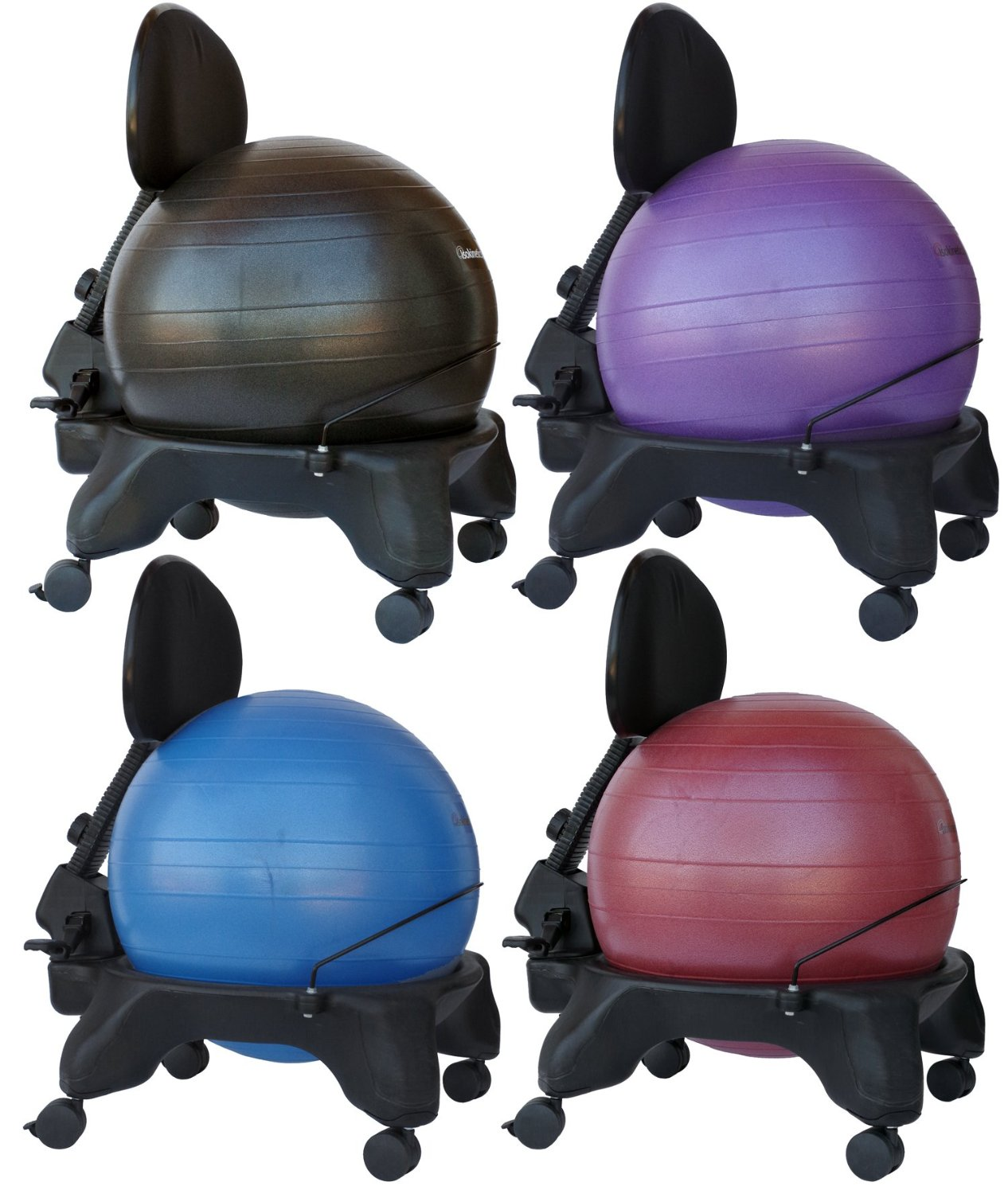 exercise ball office chair size pier one rocking buy isokinetics inc adjustable back standard or exclusive