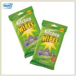 Kitchen Cleaning Products White Cabinet Doors Wet Wipes Nonwoven Cloth House