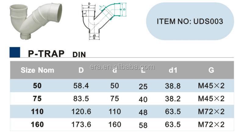Era Upvc Pipe Drainage Fittings Ptrap  Buy Plumbing Pipe
