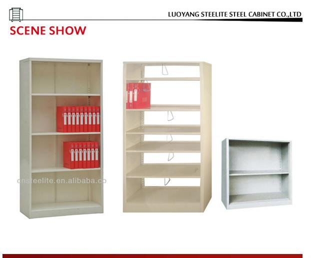Filing Storage Open Shelf Cabinet / Wall Mounted Metal