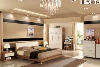 Qa02 Modern Korean Style Furniture Bedroom Queen Bed - Buy ...