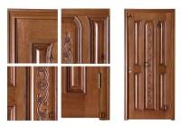 Deep Carved Panel Wood Door Soundproof Bedroom Door Models ...