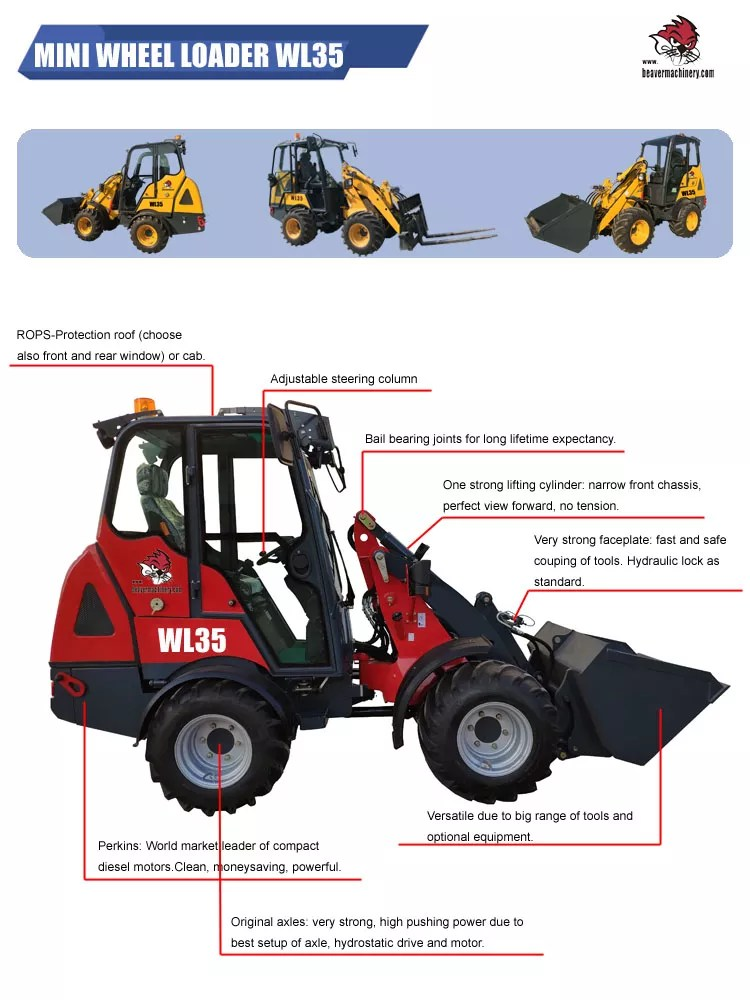 Loader Tractor For Sale : loader, tractor, China, Small, Wheel, Loader, Chinese, Loader,Articulated, Loader,Tractor, Product, Alibaba.com