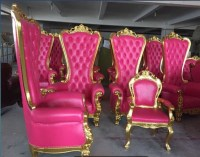 New 2017 Pink Salon Chair,Luxury Throne Spa Pedicure ...