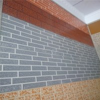 Brick Siding Stone Wall Sandwich Panels Artificial Culture
