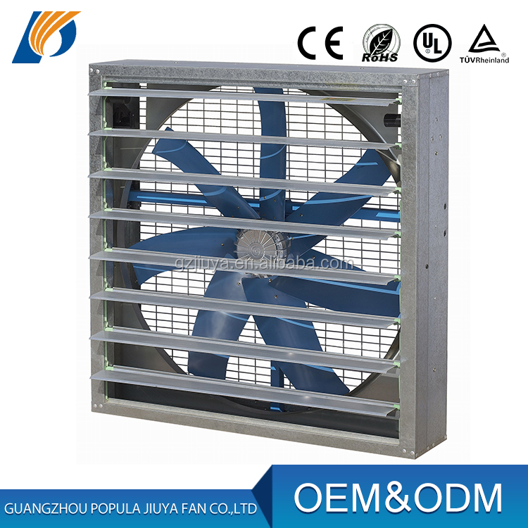 Js Square Type Industrial Ventilation Exhaust Fan For