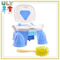 Funny Plastic Potty Chair Cartoon Toilet Chair Plastic ...