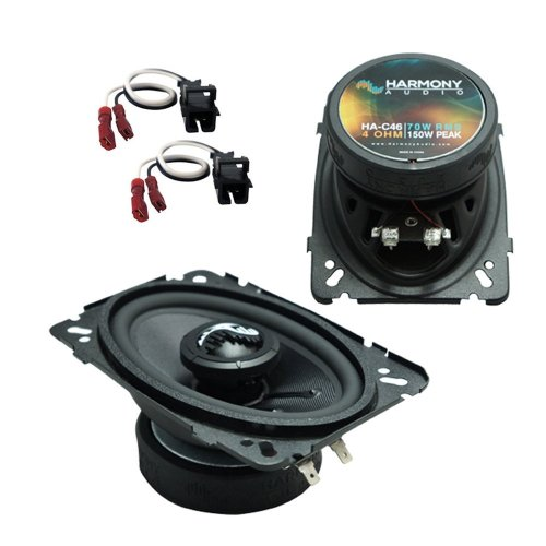 small resolution of get quotations fits gmc sierra classic 2007 rear pillar replacement harmony ha c46 premium speakers