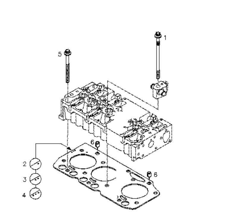 Deutz Diesel Engine Spare Parts BFM2012 Cylinder Head