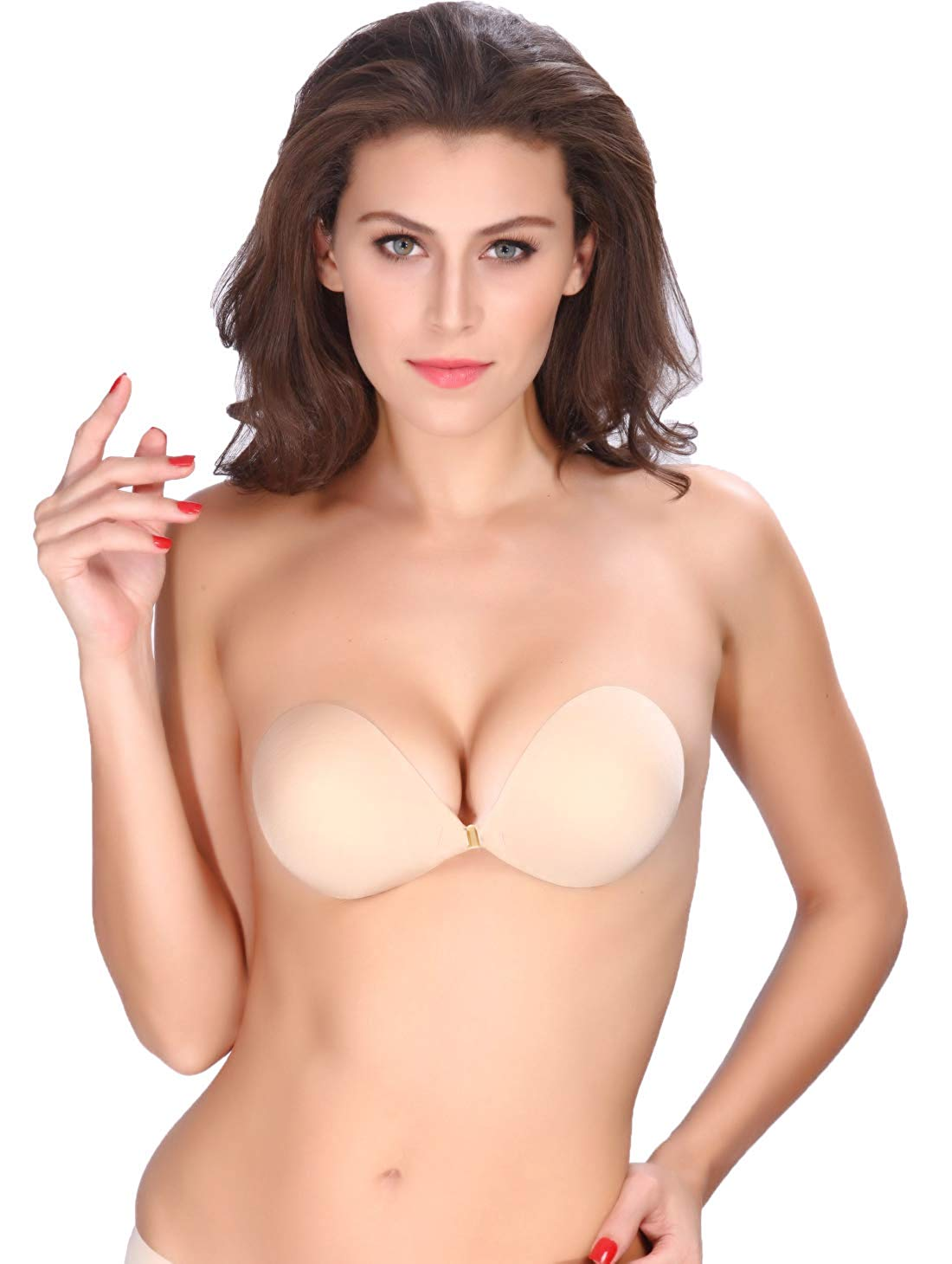 Buy AVIGOR Womens Strapless Bra Self Adhesive Silicone Sticky Bras Reusable Invisible Backless for Women in Cheap Price on Alibaba.com