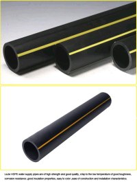 Orange Plastic Gas Pipe for Natural Gas, View gas pipe