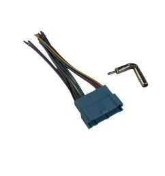 get quotations novosonics gmf 346 gm3 gm car stereo wiring harness for aftermarket stereo in gm [ 1500 x 1500 Pixel ]