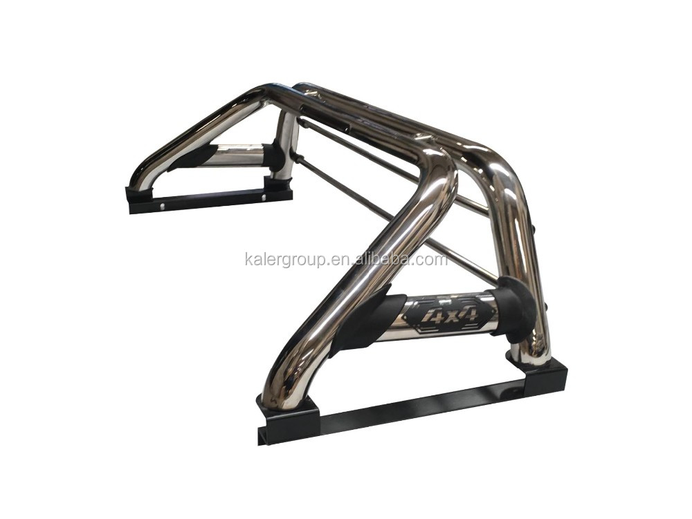 High Quality Stainless Steel Srpot Roll Bar For Navara D40