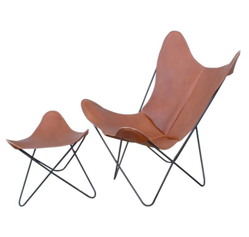 Bkf Folding Chair Metal Butterfly Chair With Solid Steel