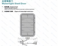 Main Door Design/steel/aluminum Marine Watertight Door For ...