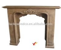 Free Standing Wooden Decorative Fireplace Mantel - Buy ...