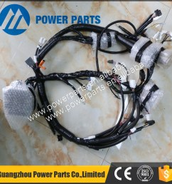 engine parts wiring harness 4hk1 engine harness 4658146 8 98002897 7 for zx210 3 [ 1000 x 1000 Pixel ]