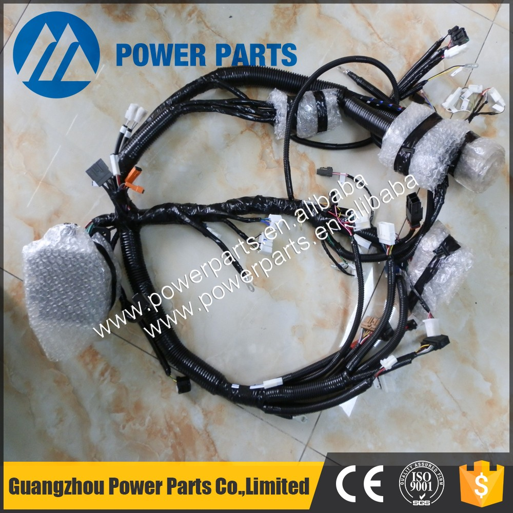 hight resolution of engine parts wiring harness 4hk1 engine harness 4658146 8 98002897 7 for zx210 3