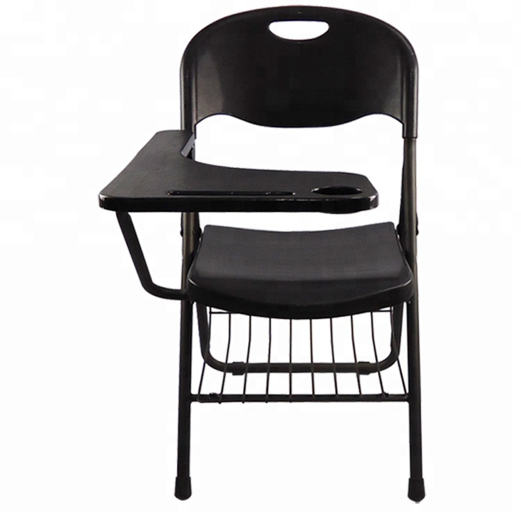 big folding chairs green wingback chair hot sell school with writing tablet conference room seminar solid steel frame