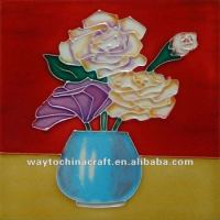 Hand Painted Ceramic Arts And Crafts Tiles - Buy Arts And ...