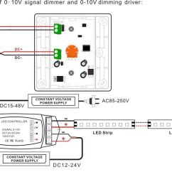 Led Dimming Wiring Diagram Rs485 To Rs232 Converter Circuit Low Voltage Remote Control Switch Wireless 0-10v Dimmer - Buy 12v ...