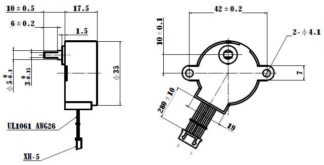 35byj46 12v stepper motor, View 35byj46 stepper motor
