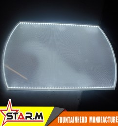 brand new screen printing acrylic led light guide panel lgp with high quality [ 1000 x 1000 Pixel ]