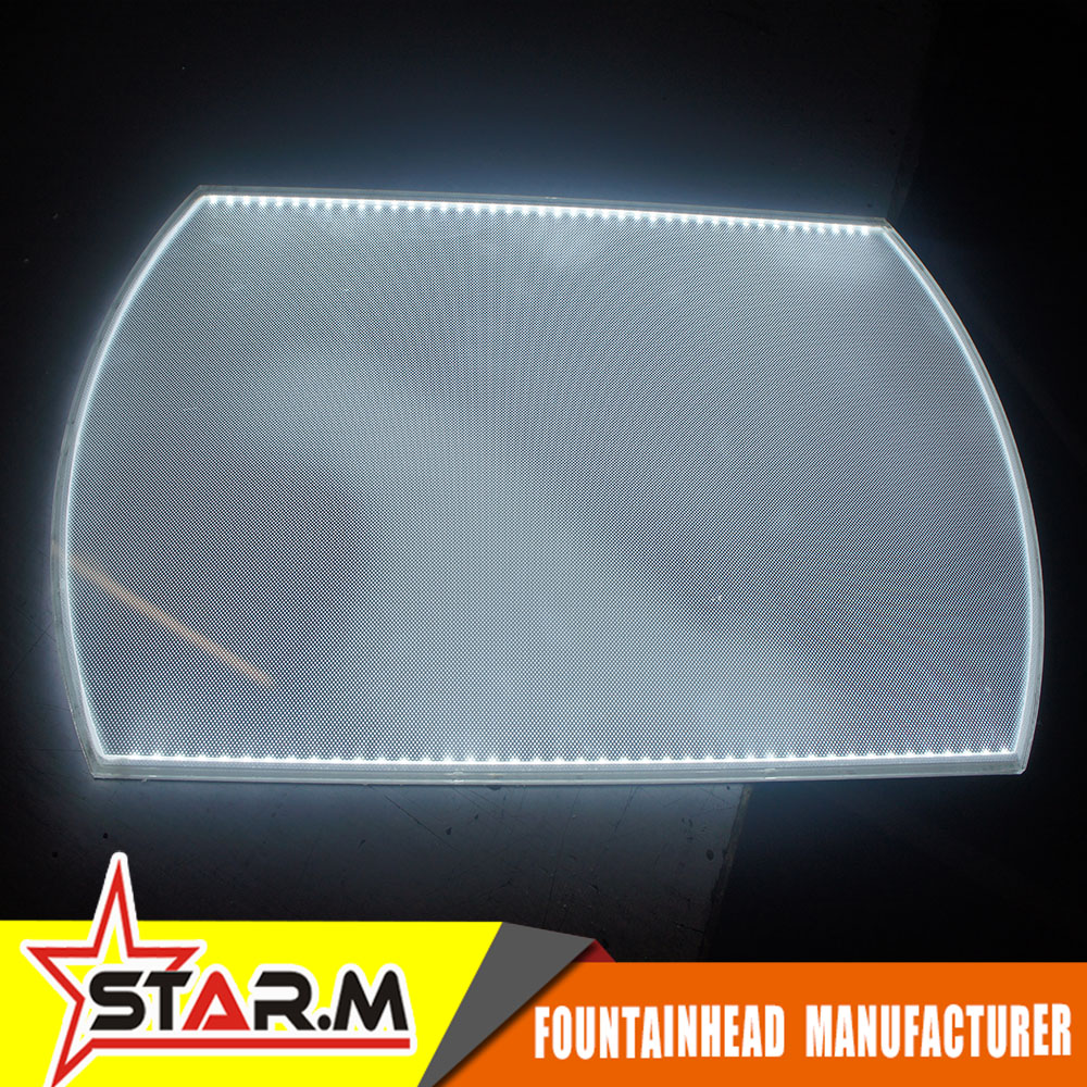 medium resolution of brand new screen printing acrylic led light guide panel lgp with high quality