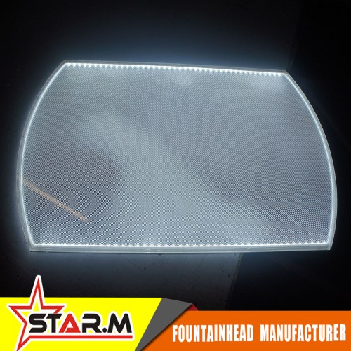 small resolution of brand new screen printing acrylic led light guide panel lgp with high quality