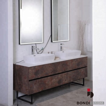 Economic Modern Double Sink Curved Wooden Bathroom Vanity Canada Buy Bathroom Vanity Canada Wooden Bathroom Vanity Curved Bathroom Vanity Product On Alibaba Com