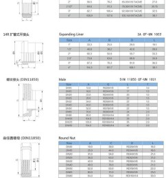 dn32 dn40 dn50 dn 80 dn100 stainless steel pipe fitting quick clamped coupling sanitary milk union [ 800 x 1556 Pixel ]