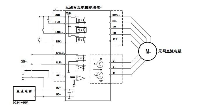3 Phase Bldc Motor Controller Circuit Diagram 3 Phase DC