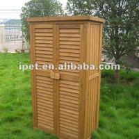 Premium Large Cheap Outdoor Wooden Garden Storage Cabinet ...