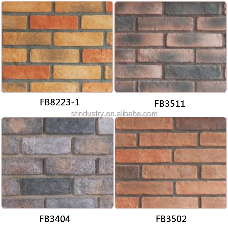 Artificial Stone Wall Panel Imitation Brick Exterior Wall