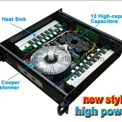2000w Power Amplifier Circuit Diagram Sub Wiring Qsc Audio Rmx 2450 Professional Sound - Buy Amplifier,qsc ...