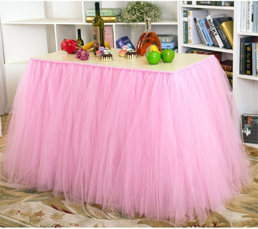 high chair table cover ceiling hanging cheap tulle find deals on line at get quotations tutu skirt for baby shower birthday party wedding cake