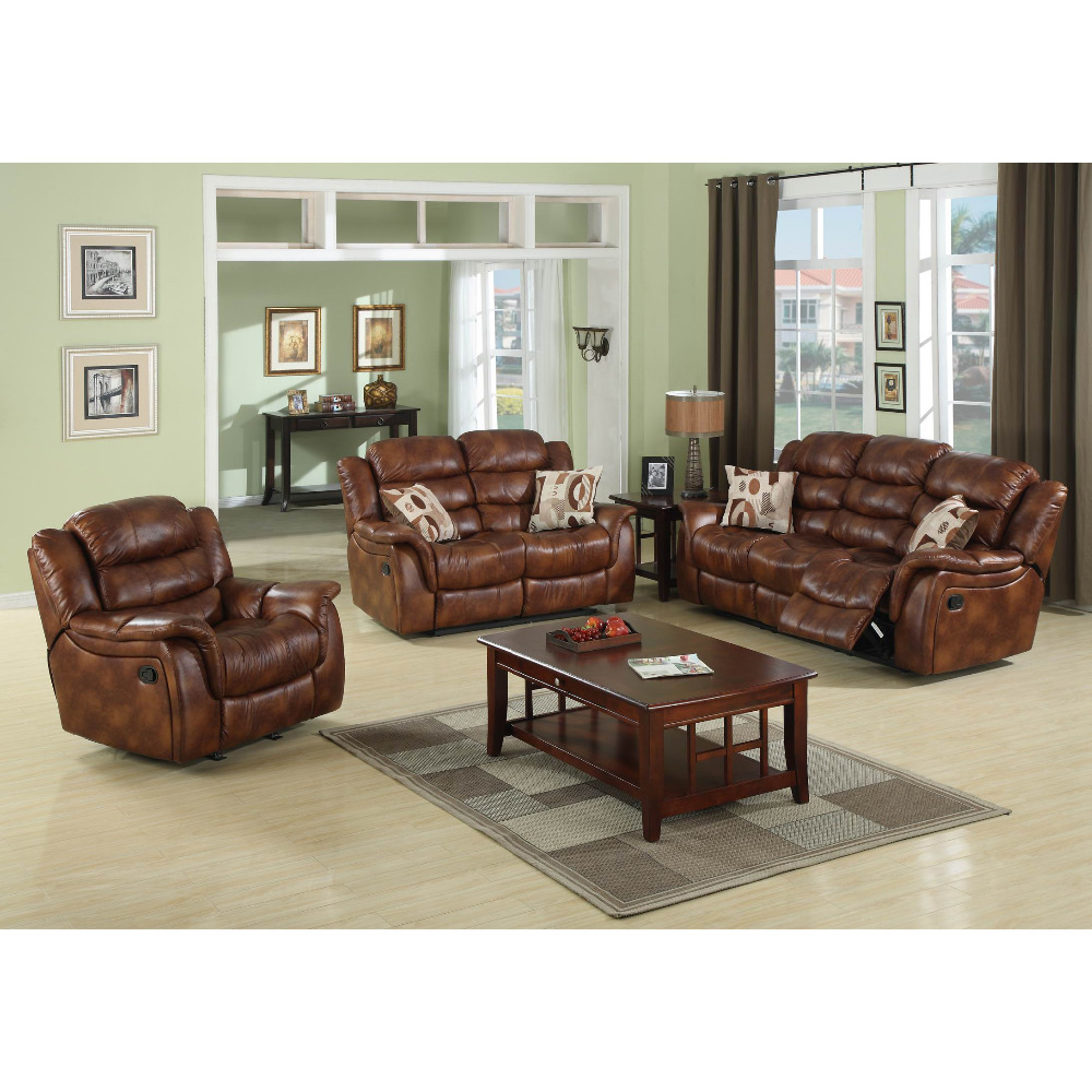 Cheers Leather Sectional Sofa