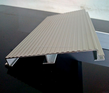 Low Price Silver Anodized Extruded Aluminium Planks