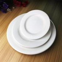 Hotel Restaurant Custom Porcelain Ceramic Charger Plate ...