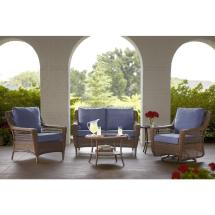 Home Depot Hampton Bay Wicker Patio Furniture